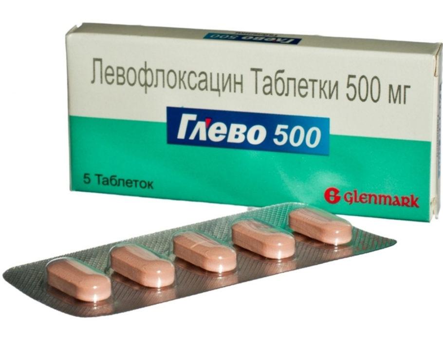 таблетки левофлоксацин