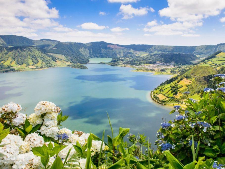 Азорские острова Португалии
