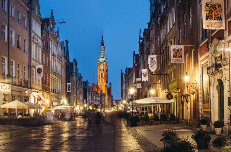 Старый город в Польше