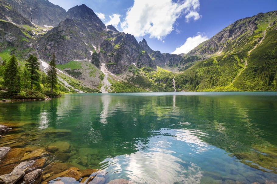 Горные озера в Польше