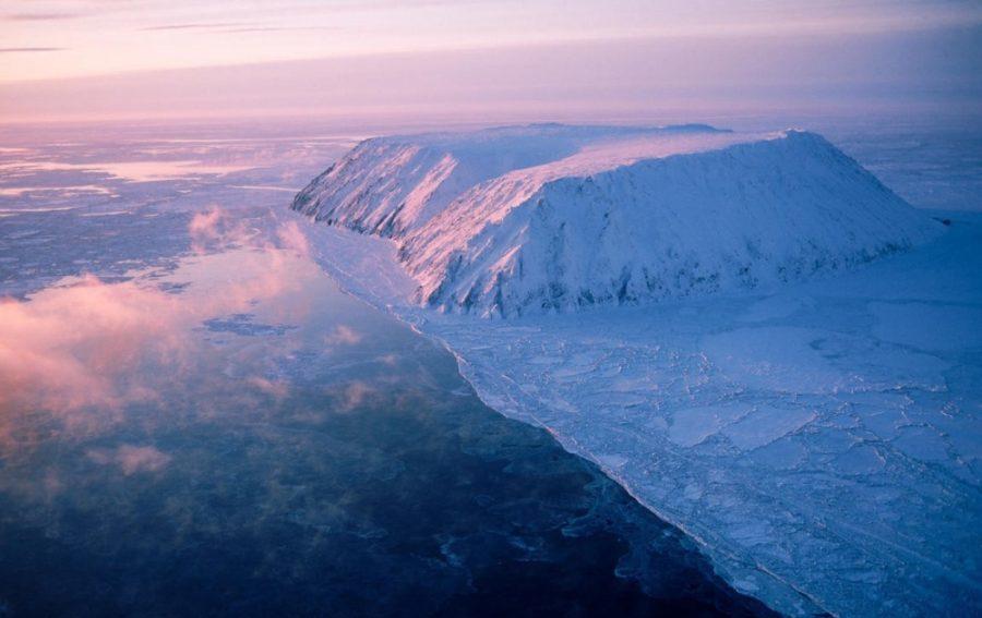 Российско-американская граница проходит через небольшой остров на Чукотке