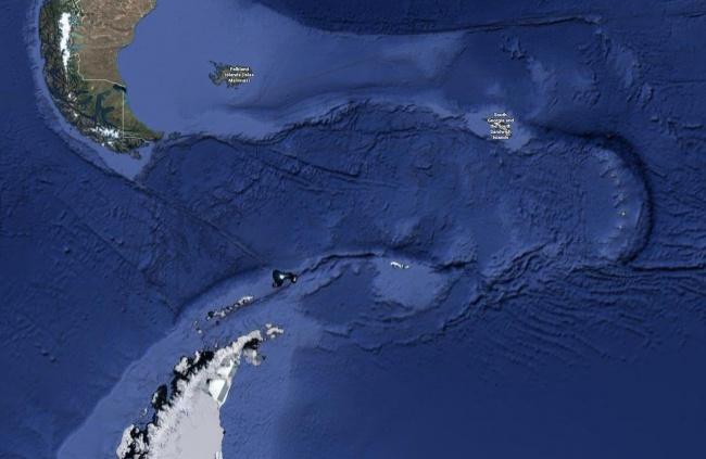 Отделение Южной Америки от Антарктиды