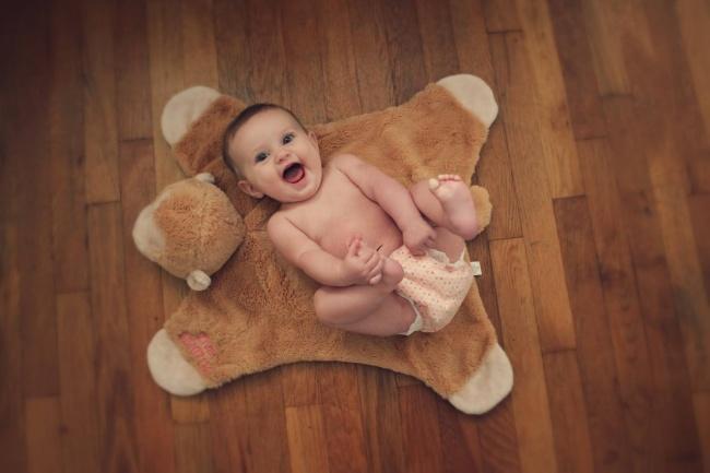 Радость малыша