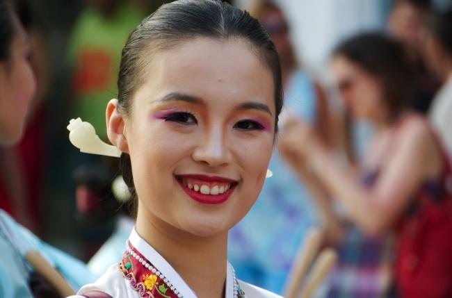 Девушка из Кореи