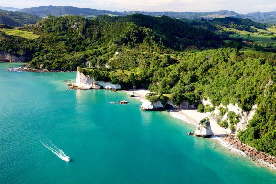 Залив Духов, Новая Зеландия