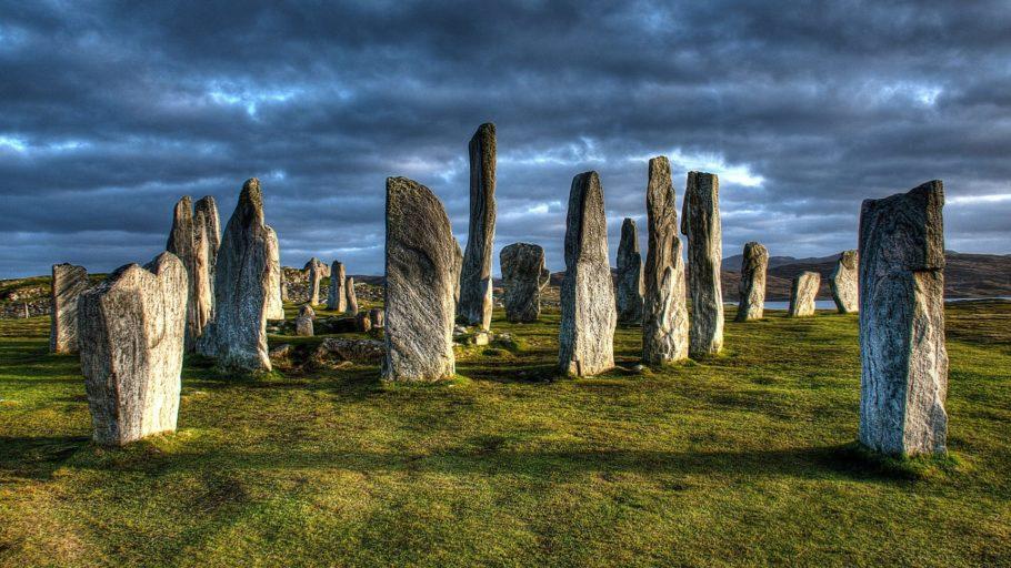 Менгиры Калланиша, Шотландия