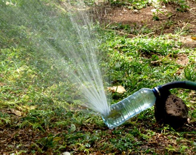 Распылитель для воды из подручных средств