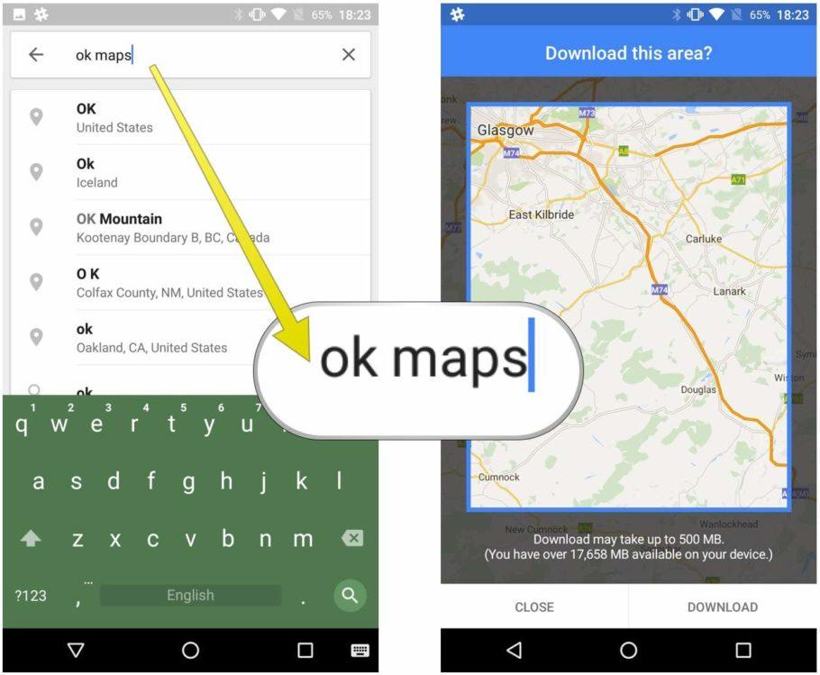 OK Maps