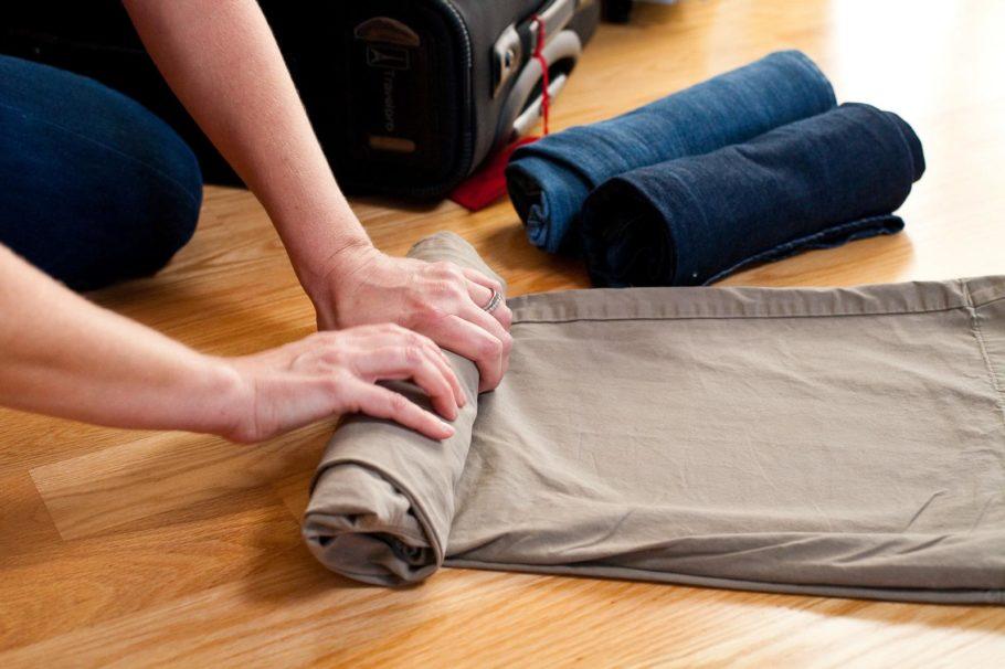 Складывайте одежду правильно