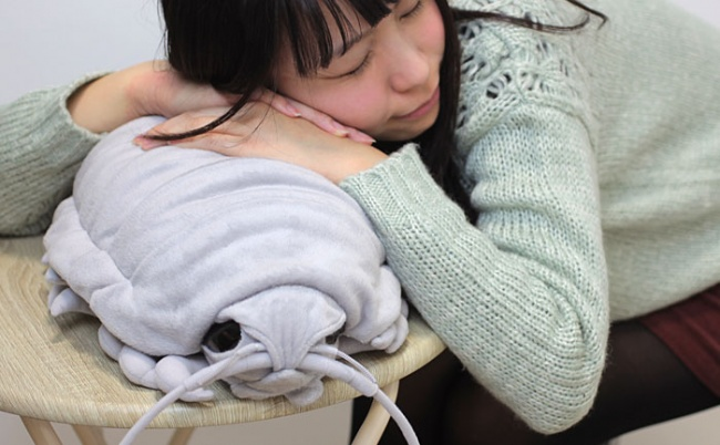 Подушка в виде изопода