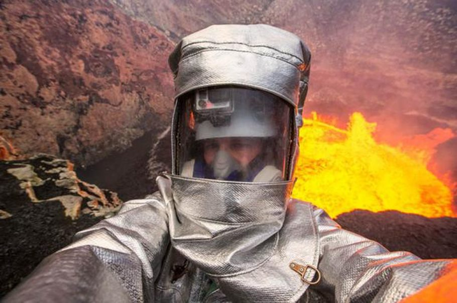 Селфи в вулкане