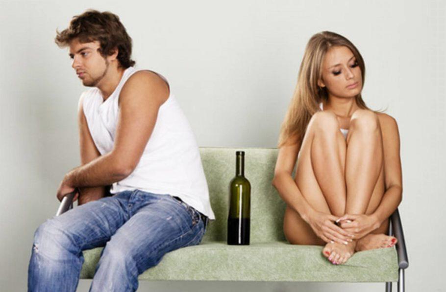 Алкоголь портит отношения