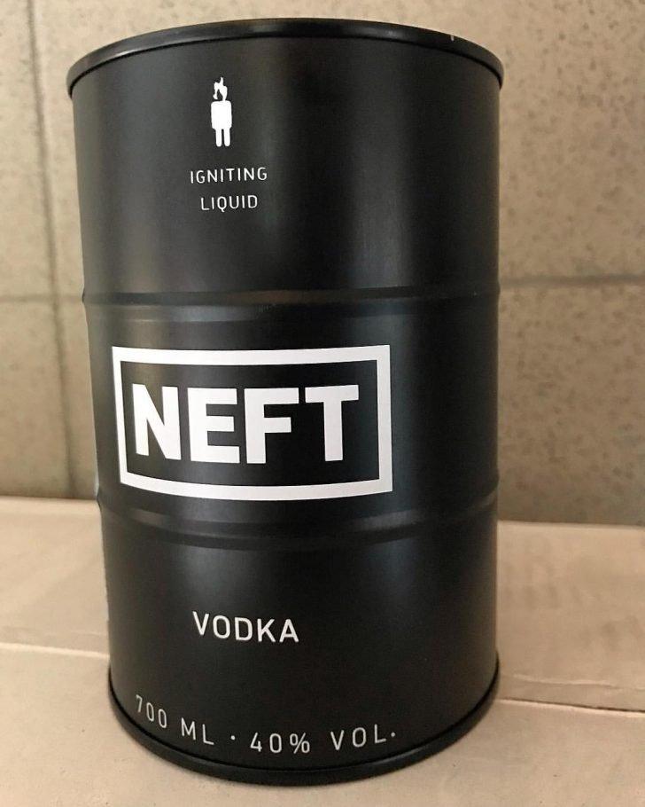"""Водка """"Нефть"""""""