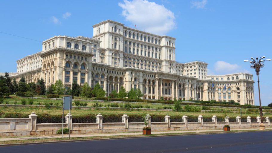 Парламентский дворец в Румынии