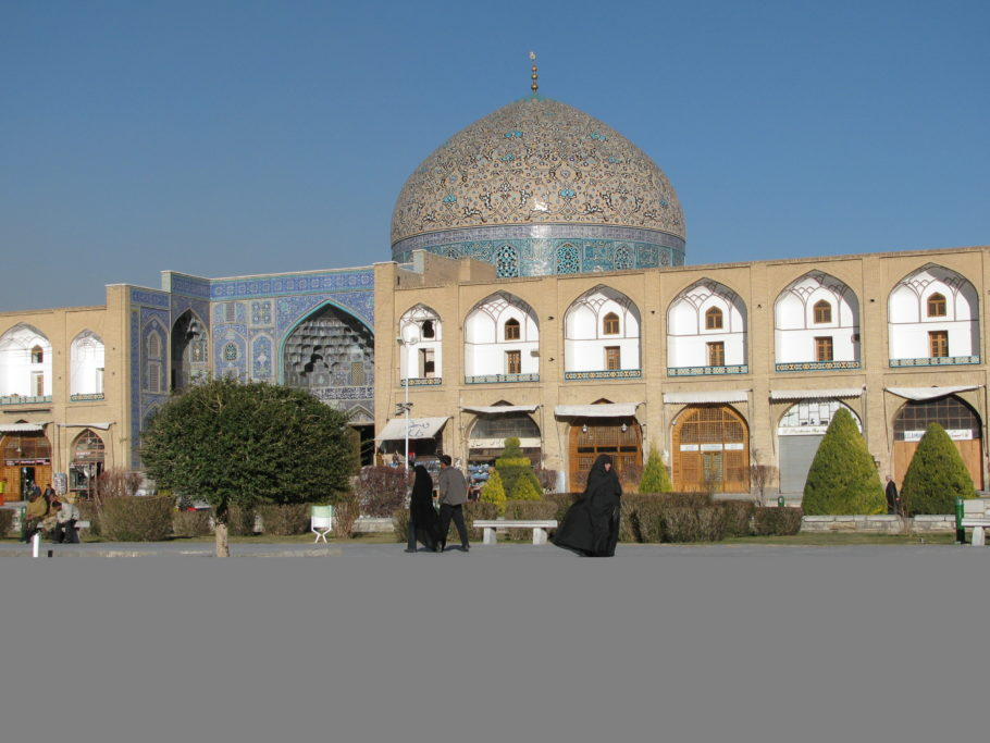 Мечеть Лютфуллы в Иране