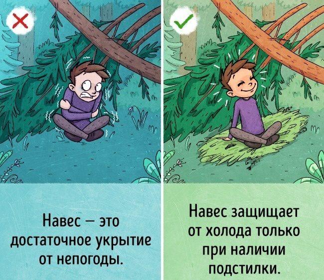 Как сделать укрытие