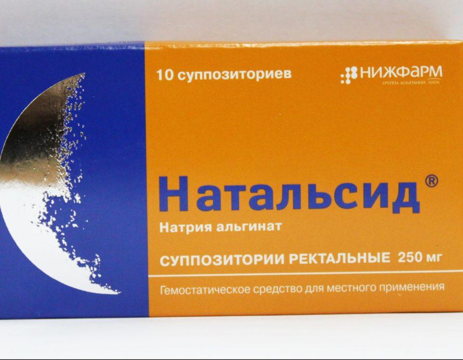 Упаковка свечей Натальсид