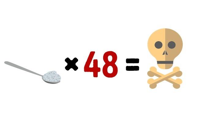 250 граммов соли за раз - смертельно