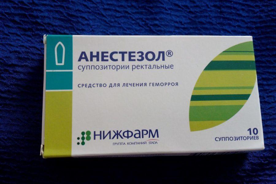 Упаковка препарата Анестезол