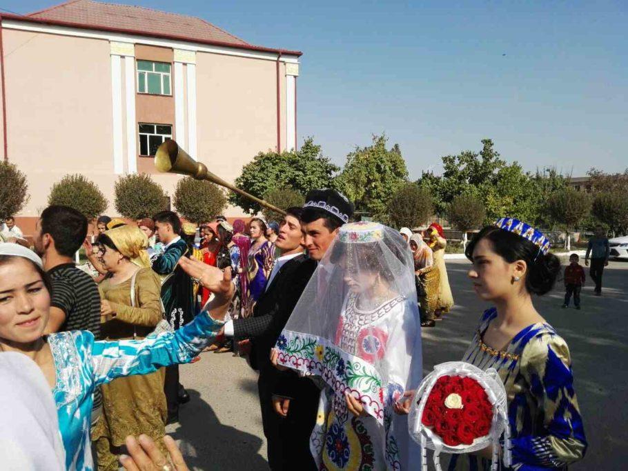 Саидшо Асроров и его невеста
