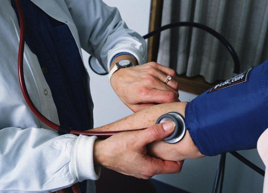 Процесс измерения давления
