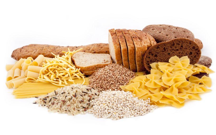 хлеб, крупы и макаронные изделия