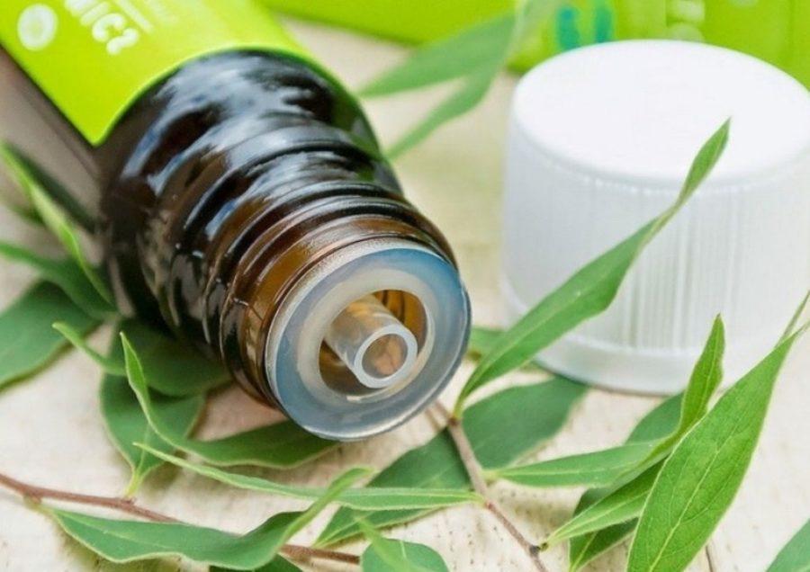 Бутылочка с дозатором масла чайного дерева