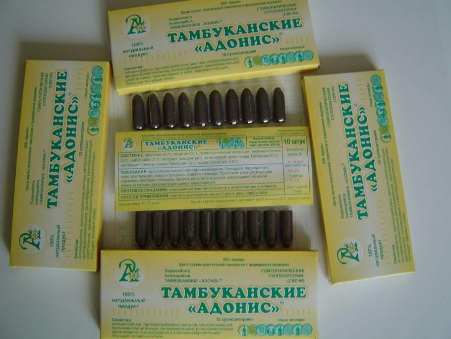 Свечи Тамбуканские Адонис