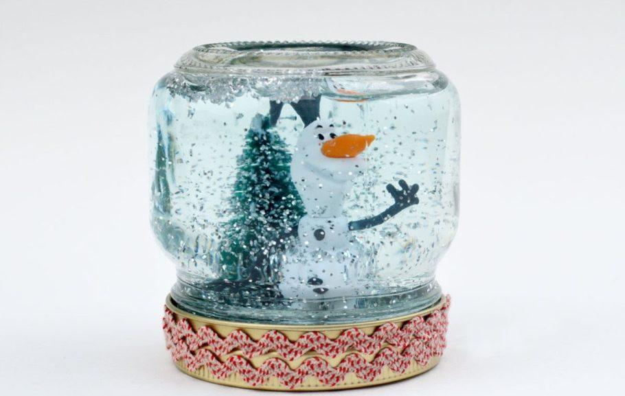 Снеговик в баночке