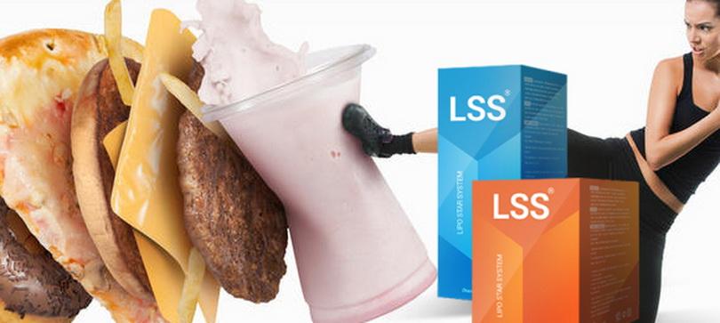 Средство для похудения Lipo Star System и фаст фуд