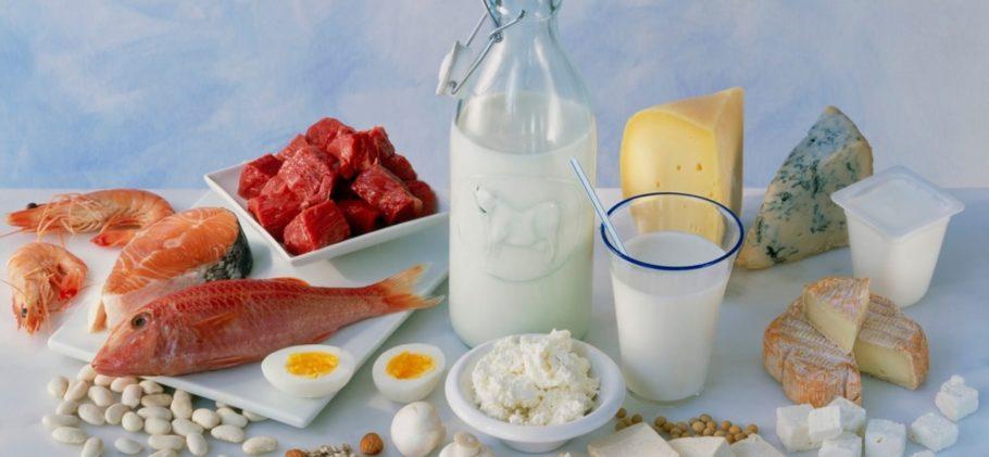 рыба, молоко, яйца и другие продукты питания