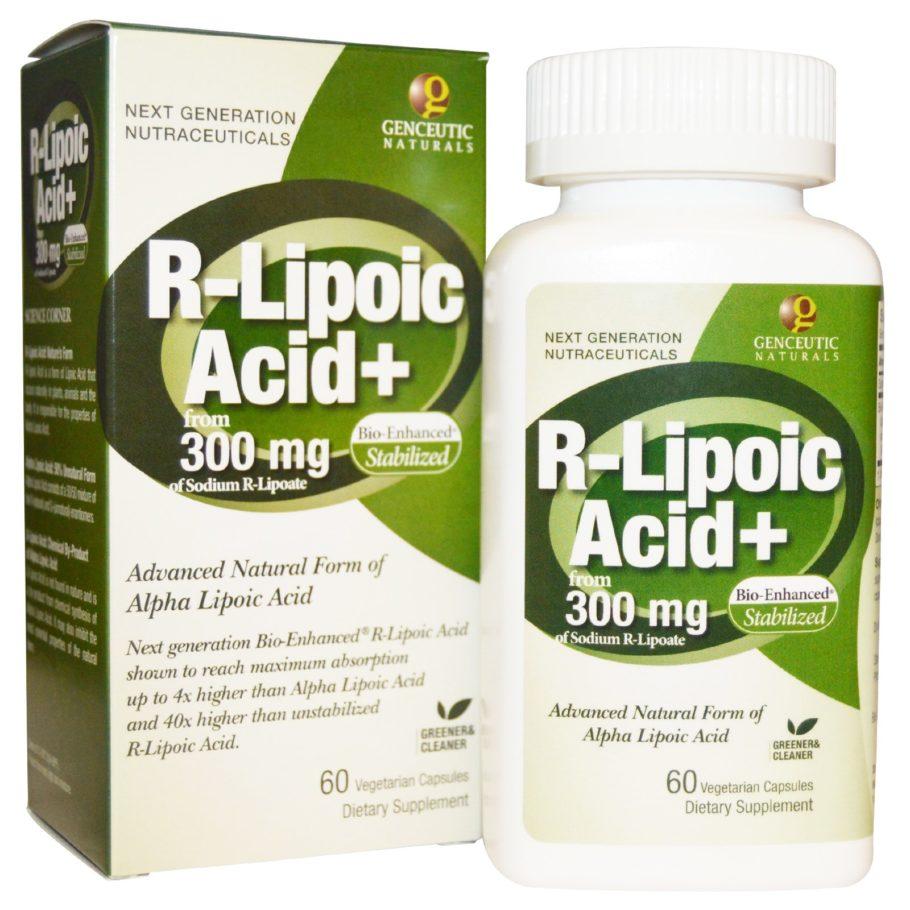 Липоевая кислота R-Lipoic Acid+