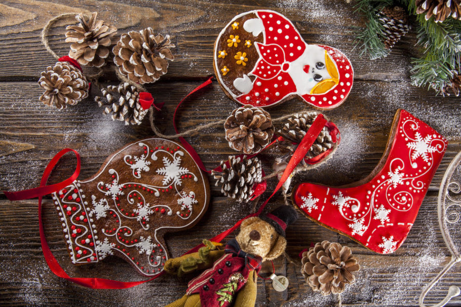 Шоколадные пряники к Новому году