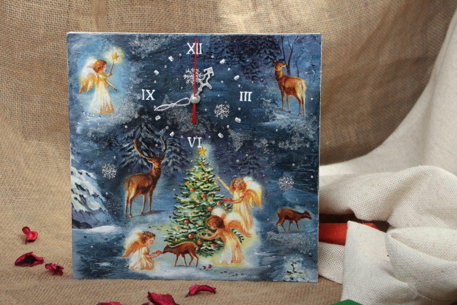 декупаж новогодняя открытка