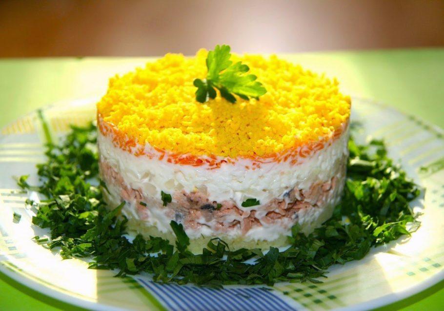 салат «Королевская мантия»