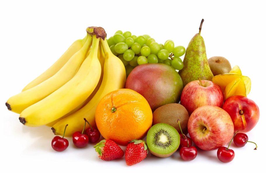 цитрусы, фрукты и ягоды