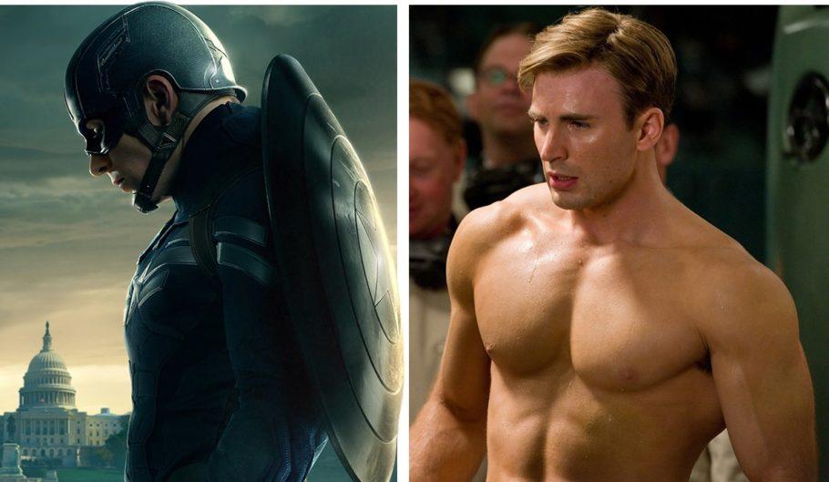 """Крис Эванс """"Капитан Америка"""""""