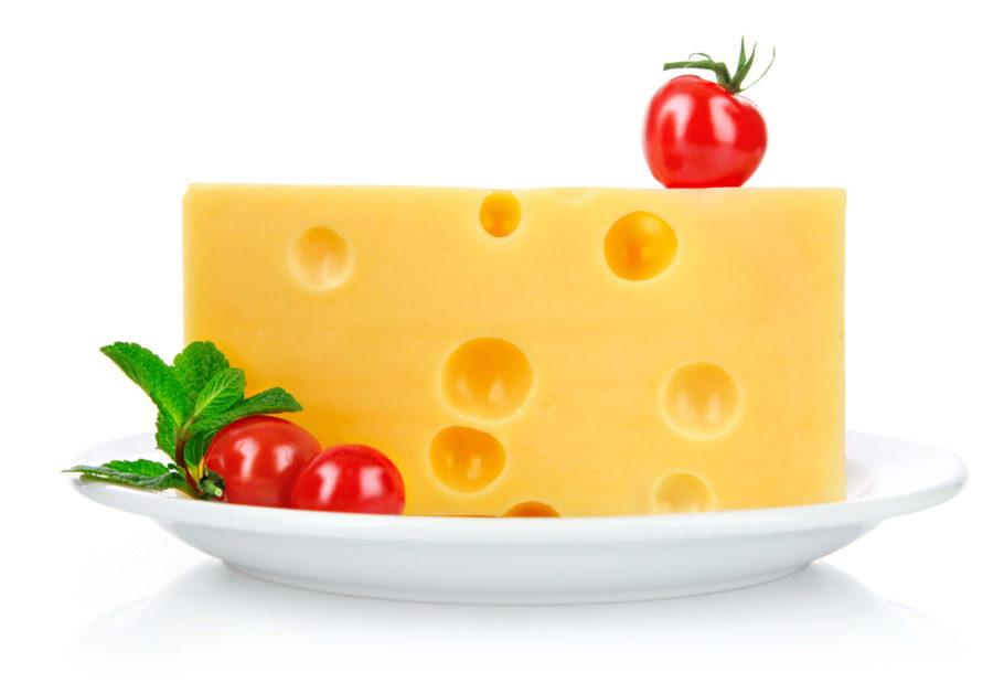 сыр и помидоры