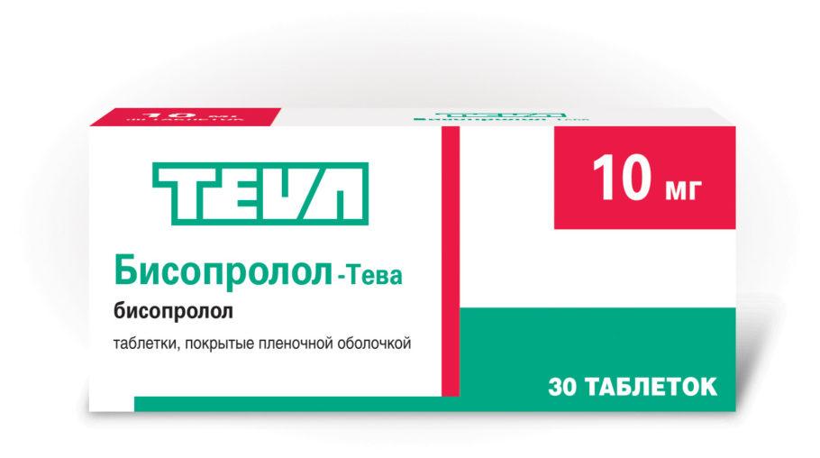 таблетки бисопророл