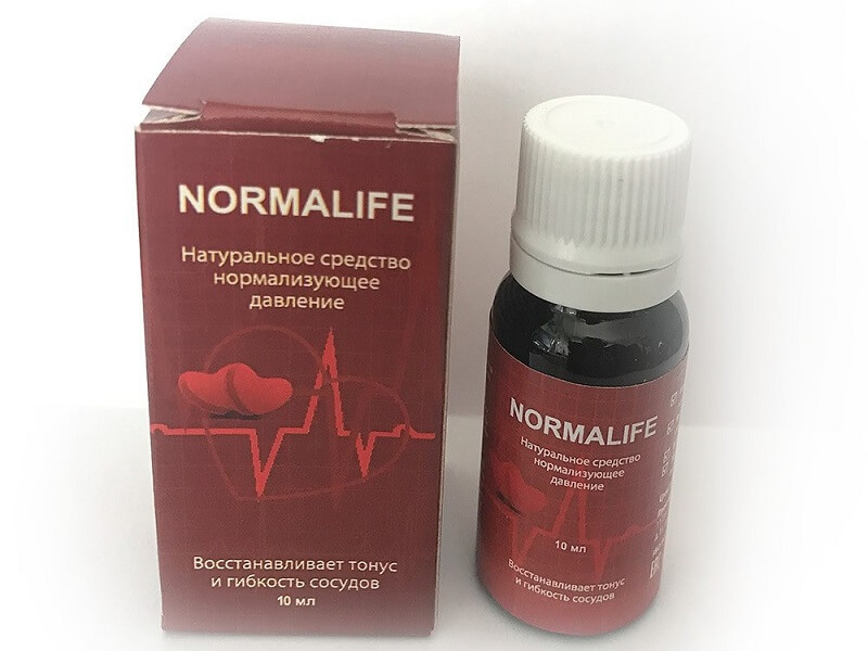 Упаковка прапарата Нормалайф