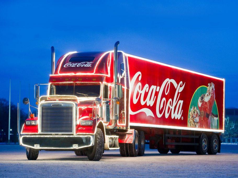 Караван Coca Cola