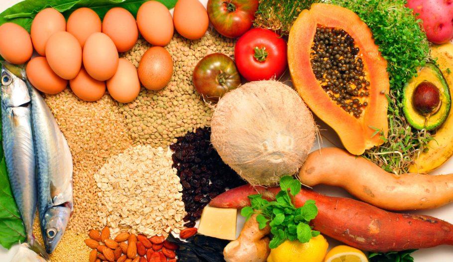 овощи фрукты крупы яйца и рыба