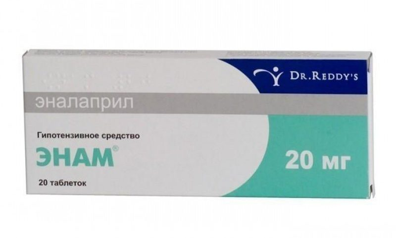 Упаковка препарата Энам