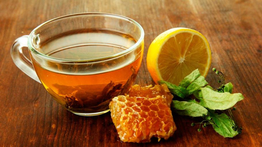 чай мёд лимон