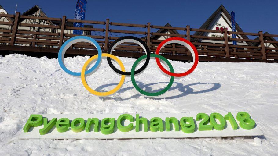 Олимпийские кольца зимняя олимпиада 2018