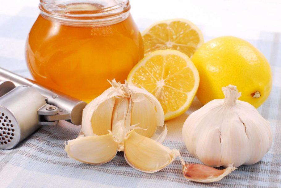мёд лимон и чеснок