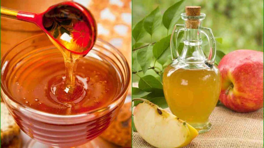 Мед и яблочный уксус