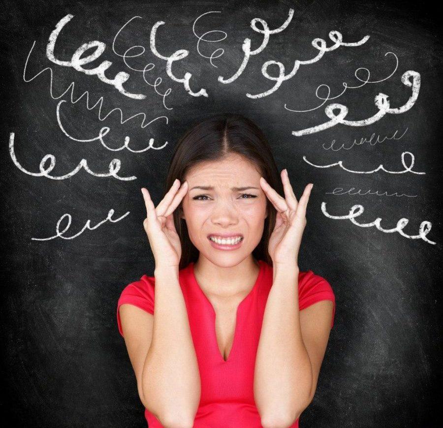 Стресс, головная боль