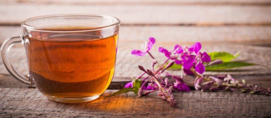чашка с иван-чаем