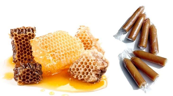 лечение аденомы простаты свечами из мёда